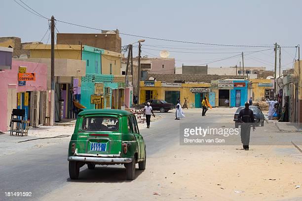 Street in Nouadhibou, Mauritania