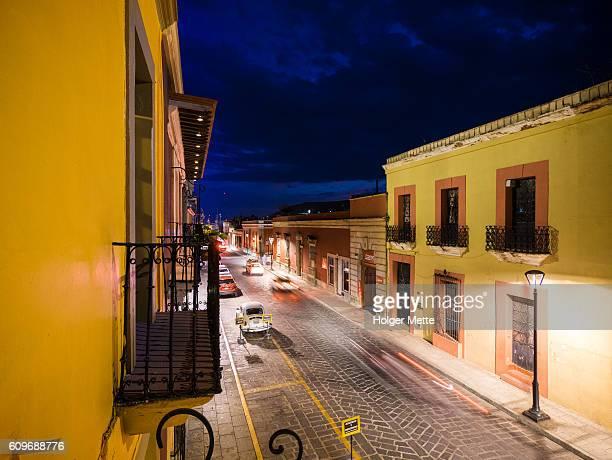 Street in Oaxaca, Mexico