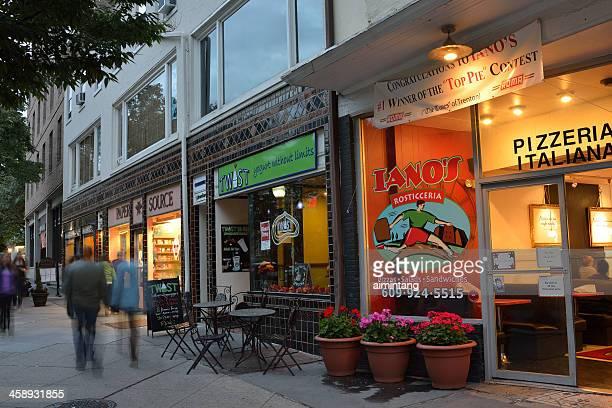 プリンストンの通り - ニュージャージー州 プリンストン ストックフォトと画像