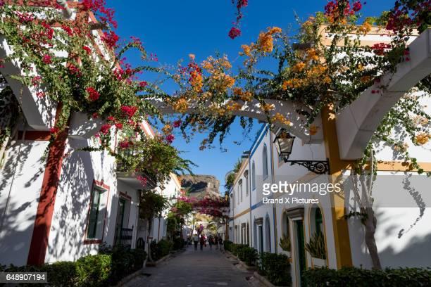Street in Puerto de Mogan