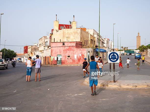 street in rabat, morocco - rabat morocco stock pictures, royalty-free photos & images