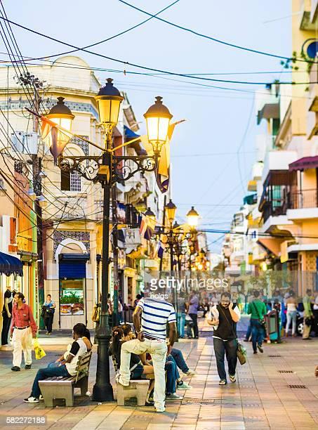 Street in Santo Domingo, Dominican Republic