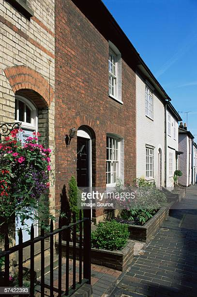 street in st.. albans - hertfordshire stock pictures, royalty-free photos & images