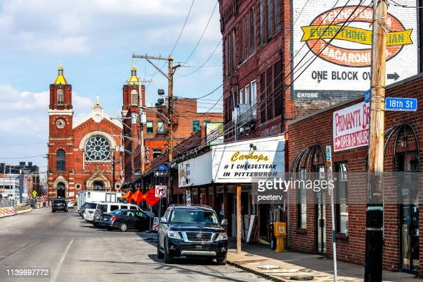 Street in Strip District - Pittsburgh, PA