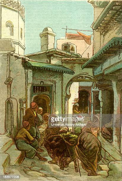 A Street In The Casbah Algiers 1885