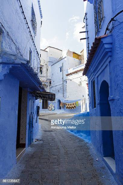 A street in the Chefchaouen medina, Morocco