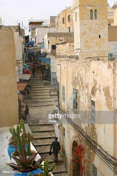Street in the Medina of Sousse tourism living environment
