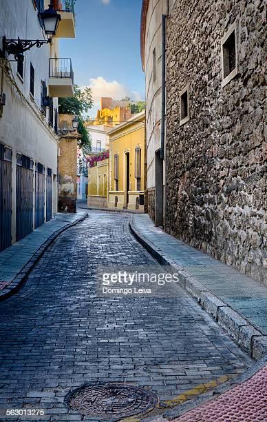 Street in the neighborhood of the Almedina Almeria