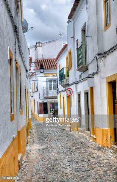 Street in the Old Town of Évora - Portugal
