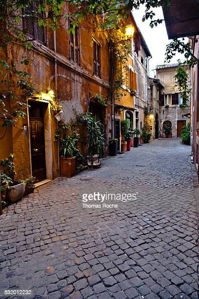 A street in the Trastevere section of Rome