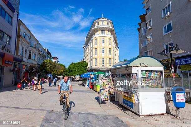Street in Varna, Bulgaria