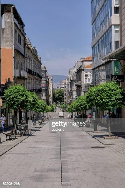 street in vigo, spain - vigo stock pictures, royalty-free photos & images