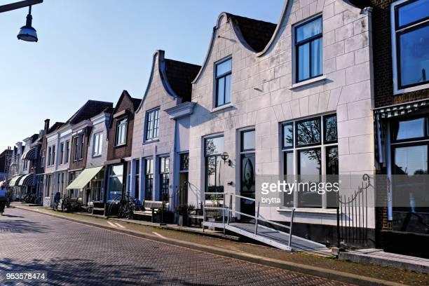 ジーリックジー、オランダ、ゼーラント州の通り