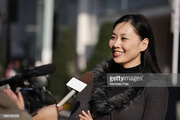 Street Interview in Tokio