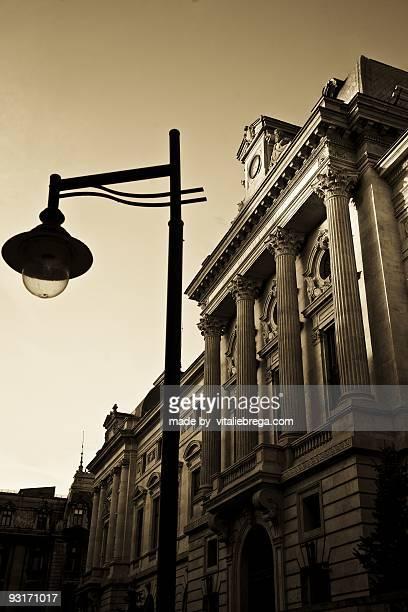 Street lamp .