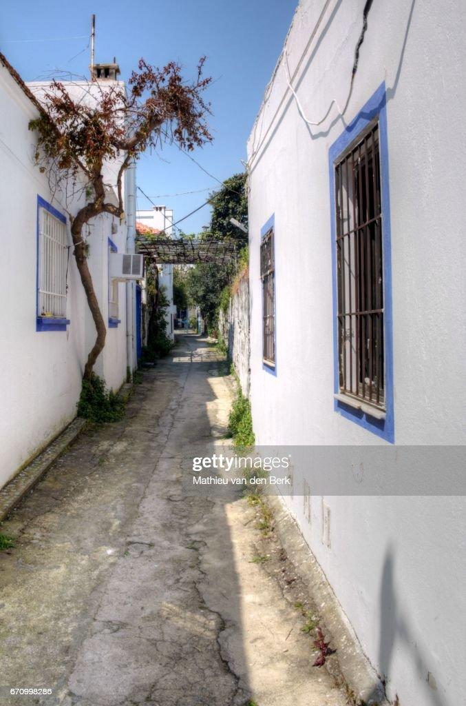 Street Life At Turkeys Holiday Destination Bodrum Stock Photo