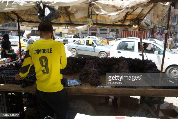 Street life in Mosul two month after liberation Mosul Iraq 28 August 2017 The Life is returning despite widespread destruction and explosive remnants...