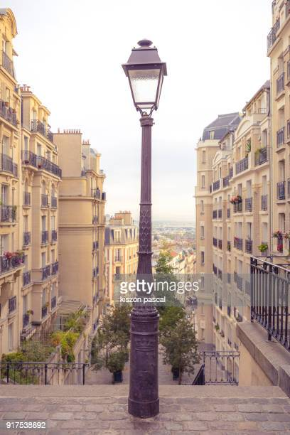 street light in paris , france - street light stock pictures, royalty-free photos & images