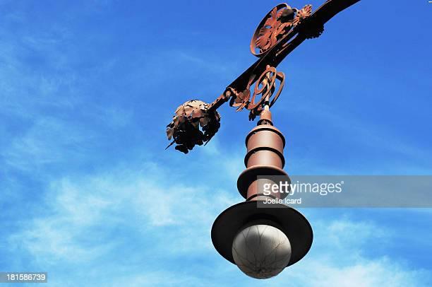 street light on Passeig de Gracia