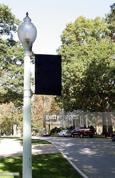 Street Light with Banner