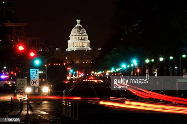 luzes de rua e nós capitólio - ogphoto imagens e fotografias de stock