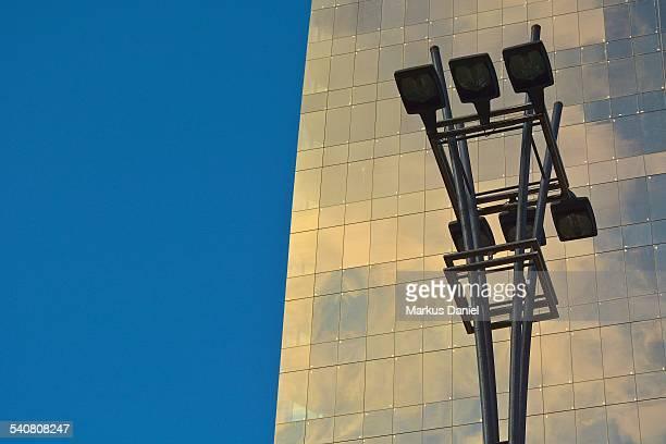 Street Lights On Avenida Paulista