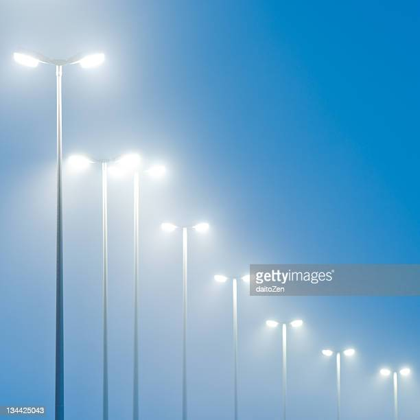 street lights - street light stock pictures, royalty-free photos & images
