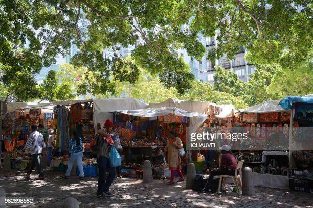 Street market Capetown South Africa