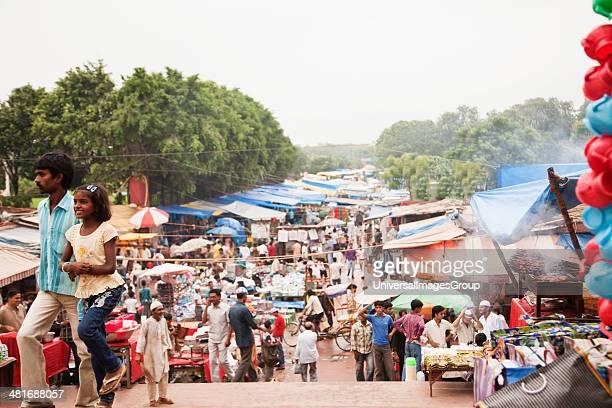 Street market Chandni Chowk Old Delhi India