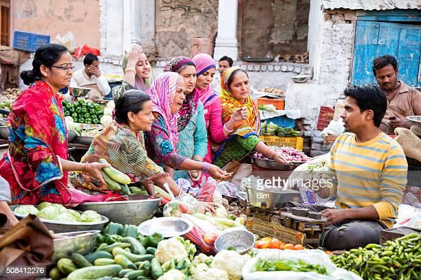 Street Market in Bikaner, India