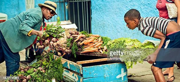 Street market in Havana