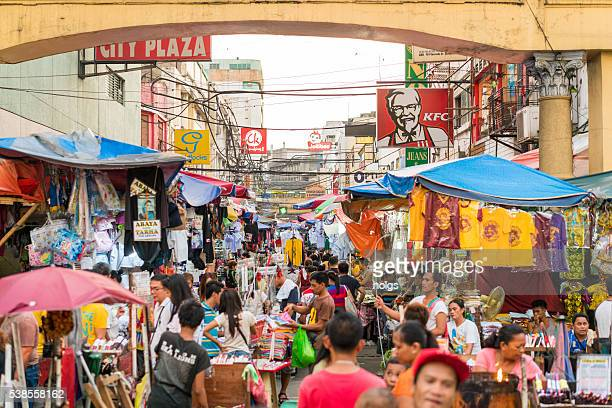 street market in manila, philippines - manila philippines stock pictures, royalty-free photos & images