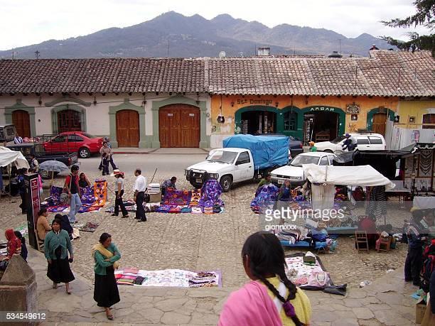 Street Market in San Cristobal De Las Casas, Chiapas, Mexico