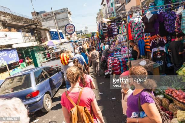 Straatmarkt in San Salvador