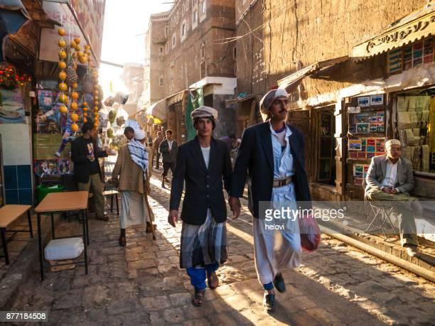 mercadillo en sana ' a - yemen fotografías e imágenes de stock