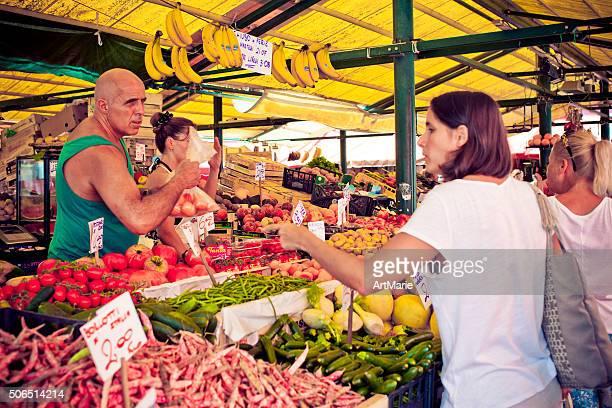Street market in Venice