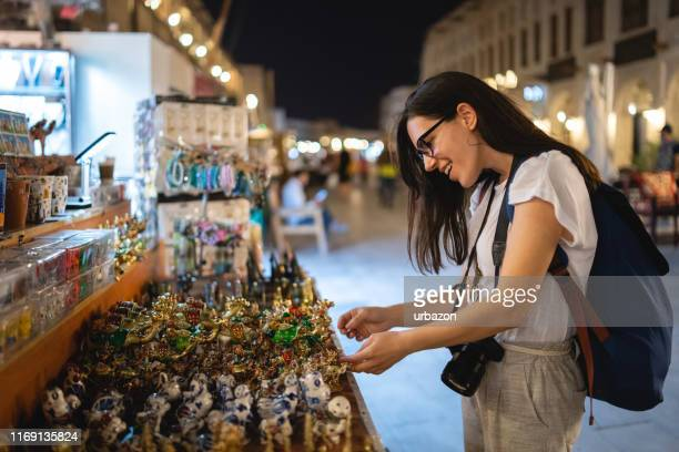 street market shopping - qatar stock pictures, royalty-free photos & images
