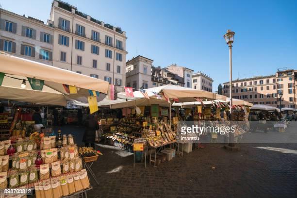 Street Market Stall in Rome