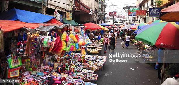 street markets Manila