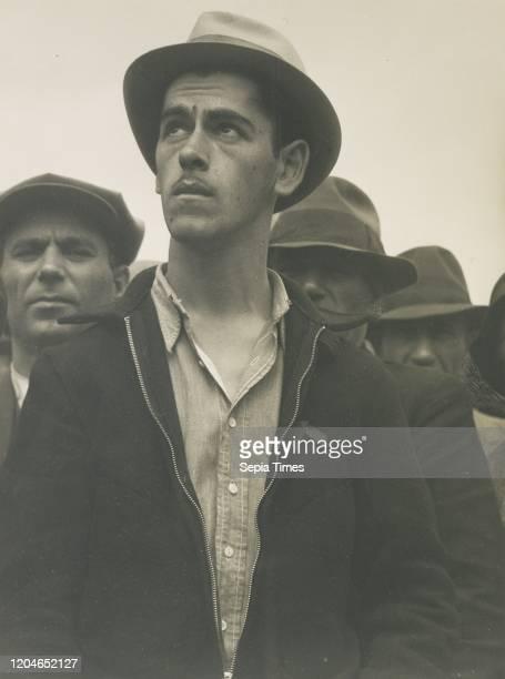 Street Meeting, San Francisco / Here Democracy Survives / What's Ahead?, Dorothea Lange , San Francisco, California, United States Gelatin silver...