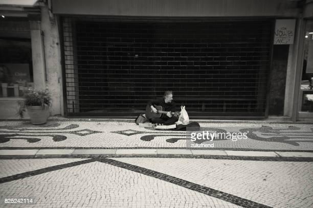 Street Musician in Lisbon