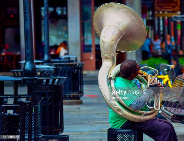 Street Musician, New Orleans, Louisiana