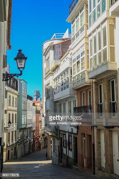 Street of A Coruña