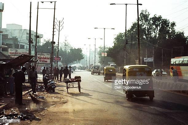 Street of Agra
