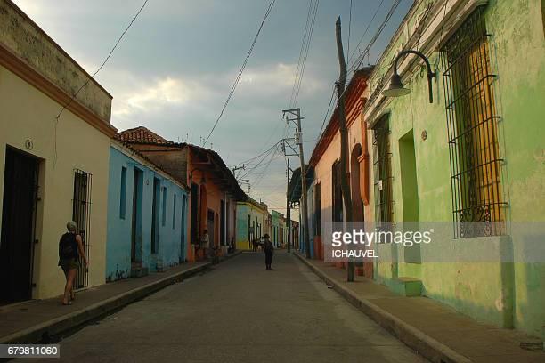 street of Camaguey Cuba