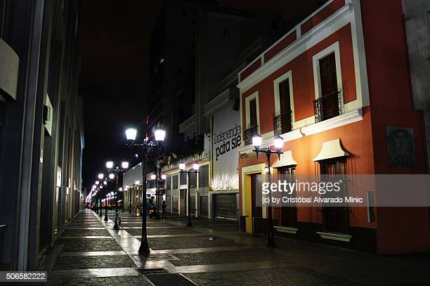 street of caracas' historical center - caracas stock pictures, royalty-free photos & images