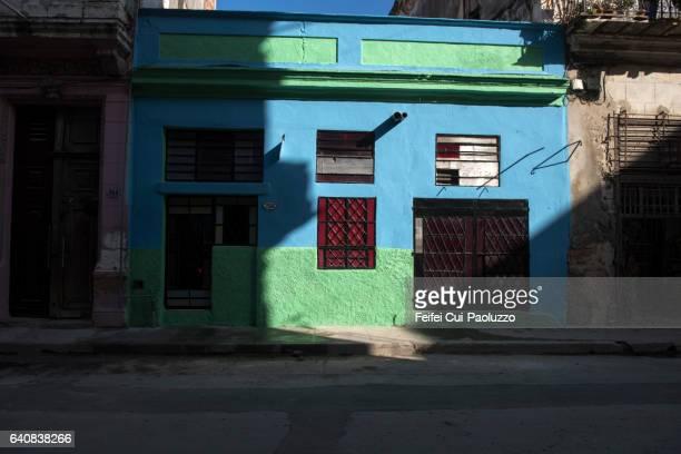 Street of Centro Havnaa in Cuba