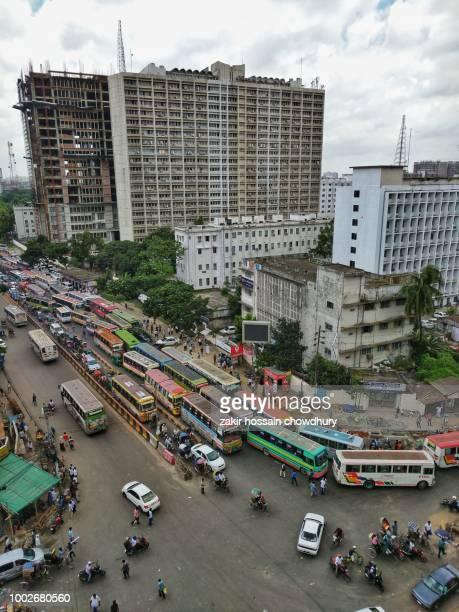 street of dhaka - dhaka stock pictures, royalty-free photos & images