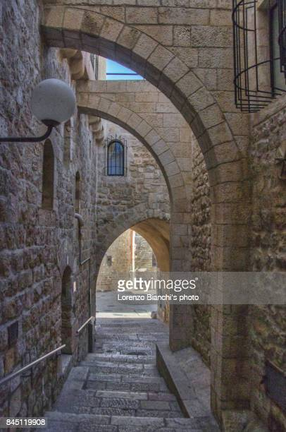 street of jerusalem - jerusalem old city stock pictures, royalty-free photos & images