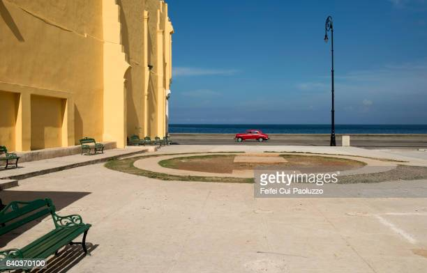 Street of Malecon Havana in Cuba